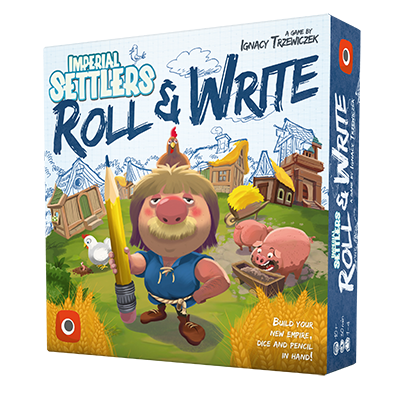 Imperial Settlers Roll & Write Board Game