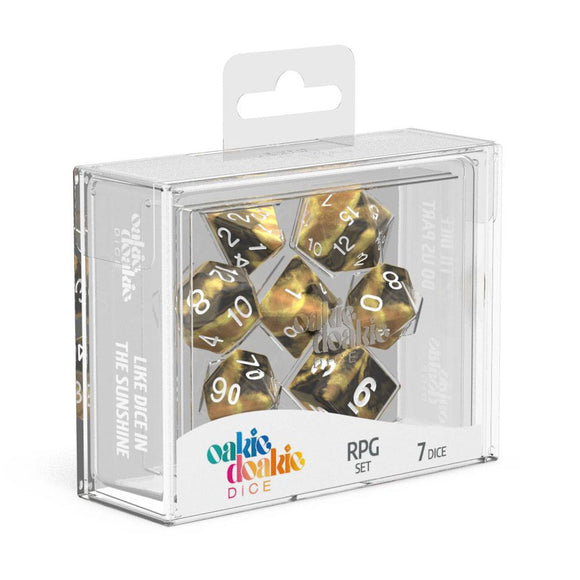 Oakie Doakie Dice RPG Set Gemidice Hornet - Front of Packaging