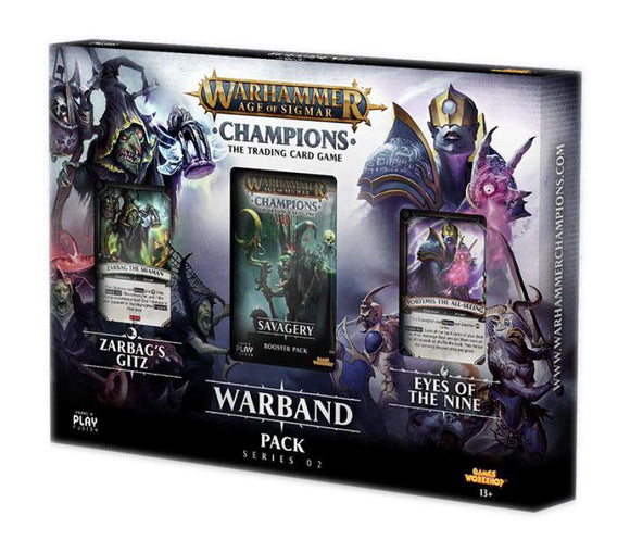 Warhammer Age of Sigmar Champions Warband Collectors Pack Series 02