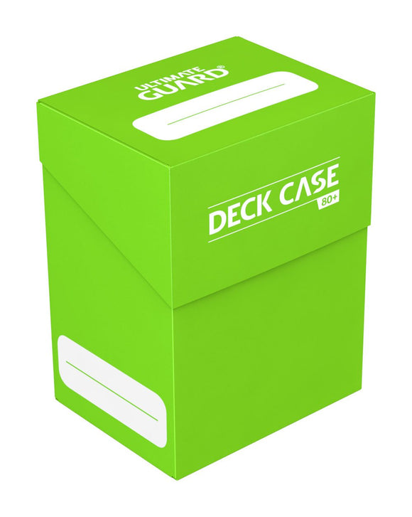 Ultimate Guard Deck Case 80+ Light Green