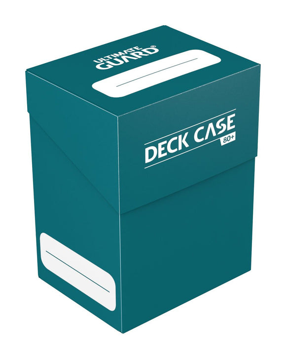 Ultimate Guard Deck Case 80+ Petrol