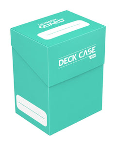 Ultimate Guard Deck Case 80+ Turquoise