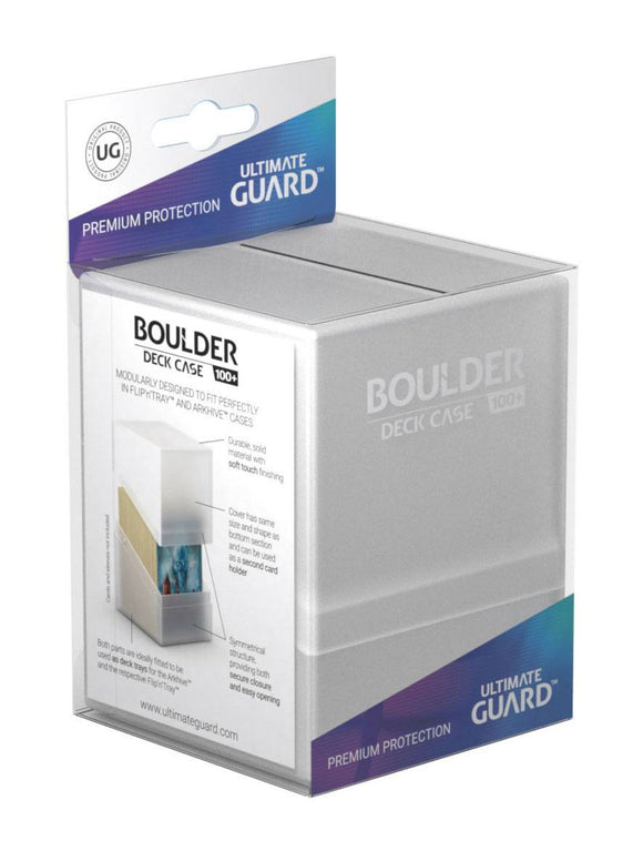 Ultimate Guard Boulder Deck Case 100+ Frosted