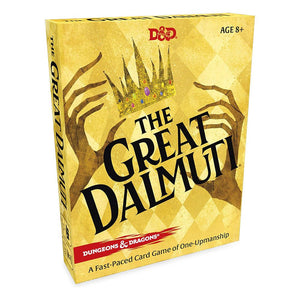 D&D The Great Dalmuti Card Game