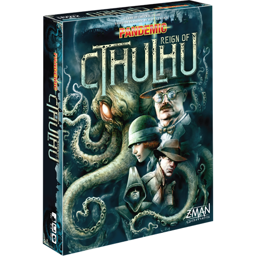 Pandemic: Reign of Cthulhu-Board Games-Athena Games Ltd