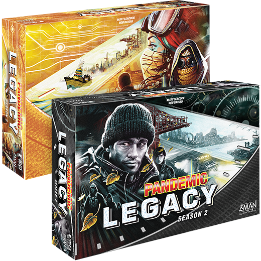 Pandemic Legacy Season 2: Black