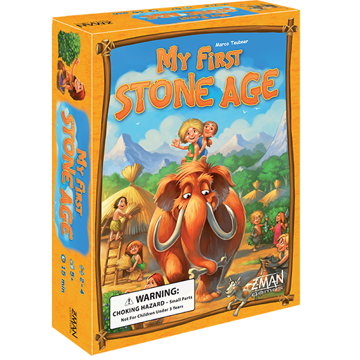 My First Stone Age-Board Games-Athena Games Ltd