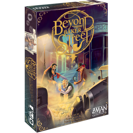 Beyond Baker Street-Board Games-Athena Games Ltd