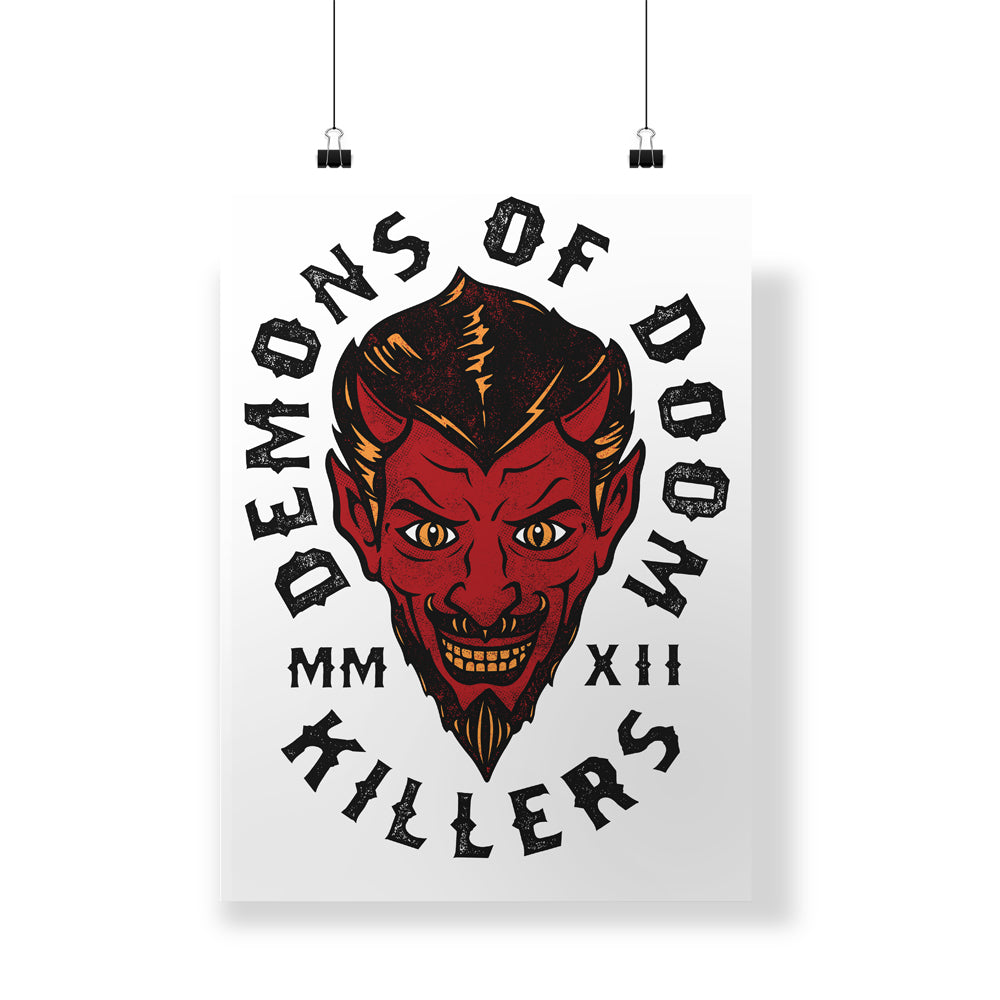 DEVIL SCREEN PRINT