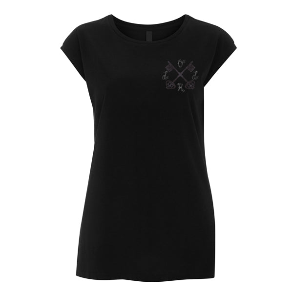 Ladies Crossed Keys Sleeveless Tee