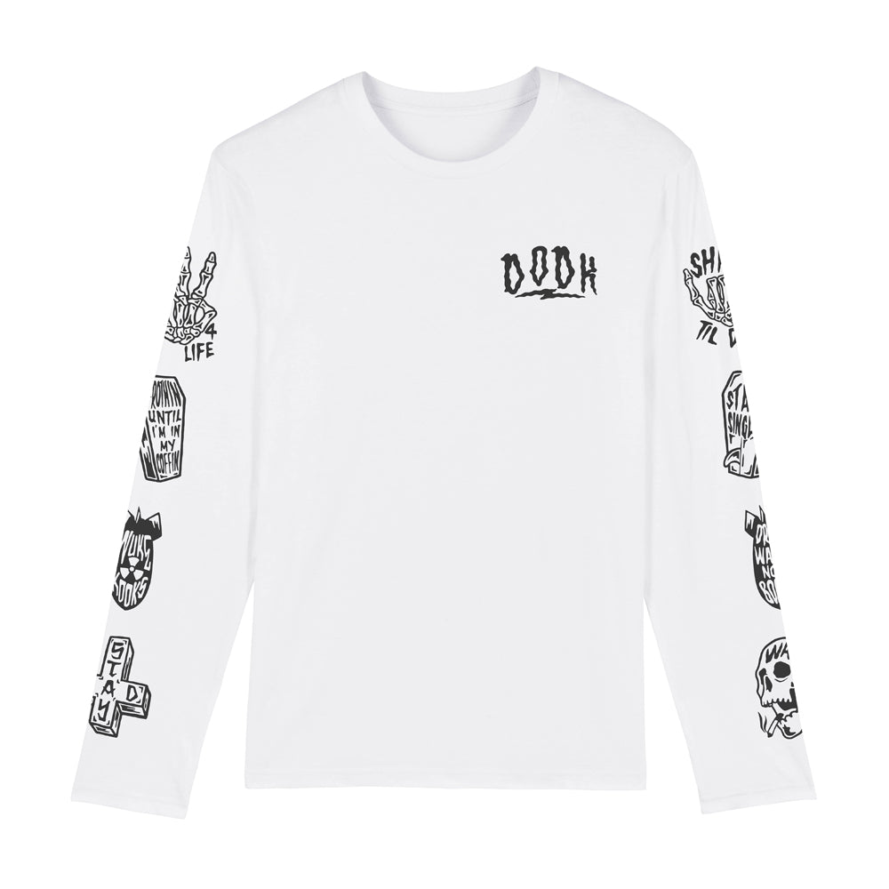 Tattoo Flash Long Sleeve Tee
