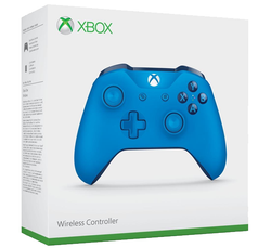 Official Xbox Wireless Controller - Blue Vortex - Grizzi