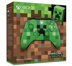 Official Xbox Wireless Controller - Minecraft Creeper - Grizzi