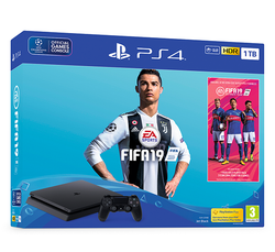 PS4 1TB FIFA 19 Bundle - Grizzi