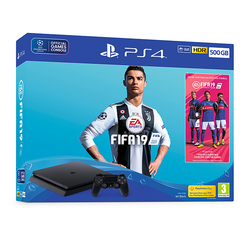PS4 500GB FIFA 19 Bundle - Grizzi