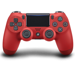 Sony PlayStation DualShock 4 Controller - Red - Grizzi