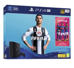 FIFA 19 PS4 Pro 1TB Bundle - Grizzi