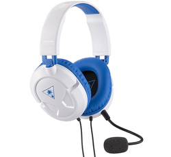 Turtle Beach Recon 60P White Amplified Stereo Gaming Headset - PS4, PS4 Pro, Xbox One and Xbox One S - Grizzi