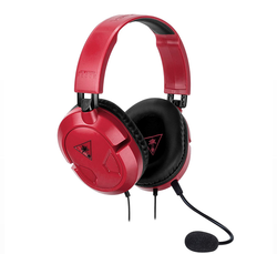 Turtle Beach Recon 50 Red Stereo Gaming Headset, PC/Nintendo Switch/Xbox One/PS4 - Grizzi