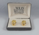 Nolan Miller Vintage clip on earrings