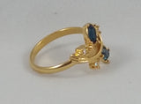 Avon 1990 Dazzling Facets Ring Size 9