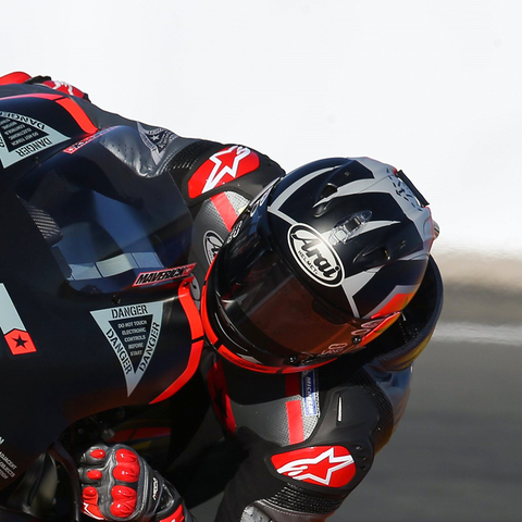 ARAI CORSAIR-X Bred on the Track