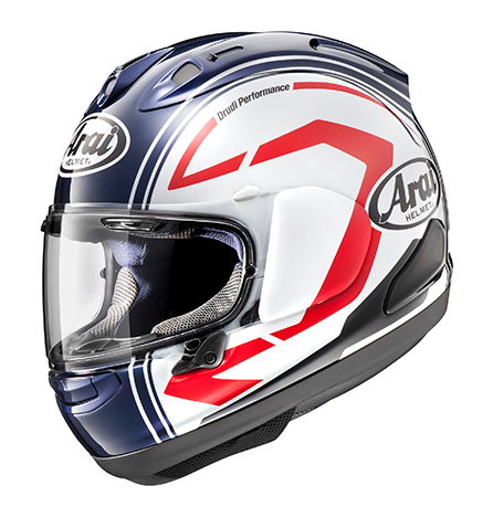 Arai Corsair-X Graphic Statement White