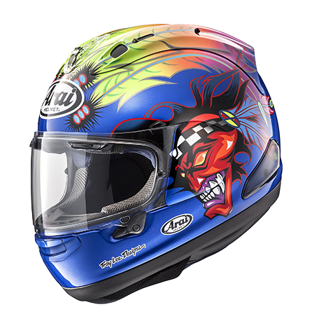 Arai Corsair-X Replica Russell-2 Blue