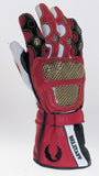 Belstaff Max Gloves Red