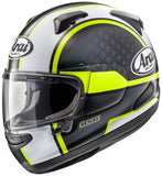 Arai Quantum-X Graphic Take Off Yellow Matte