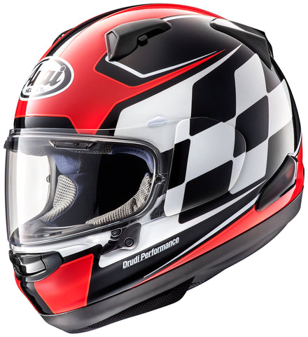 Arai Signet-X Graphic Finish Red