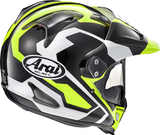 Arai XD4 Catch Yellow