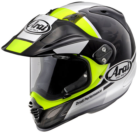 Arai XD4 Mission Gloss Neon