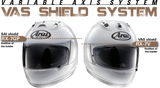 Arai Corsair-X Shields & Shield Parts