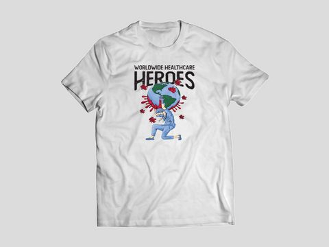 Women's Worldwide Healthcare Heroes Unisex Fit Tee