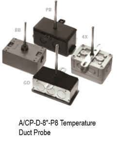 "A/CP-D-8""-P8 Temperature Duct Probe"