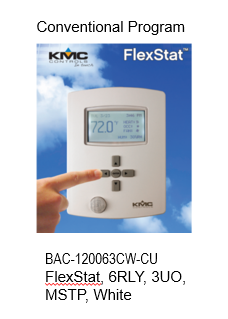BAC-120063CW-CU FlexStat (Conventional Program)