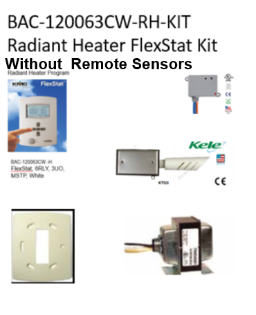 BAC-120063CW-RH-KIT (Without Remote Sensors)