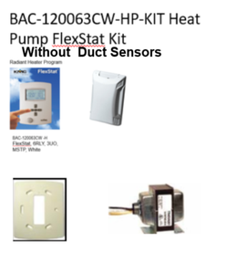 BAC-120063CW-HP-KIT (Without Duct Sensors)