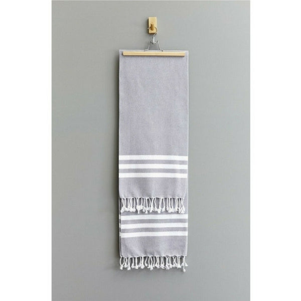 HAMMAM TOWEL - SMOKE GREY