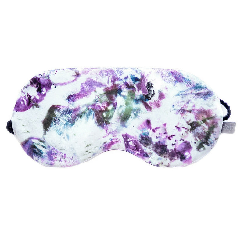 SILK EYE MASK - ANEMONE