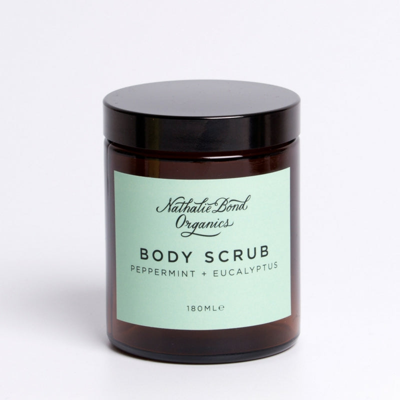 PEPPERMINT + EUCALYPTUS BODY SCRUB
