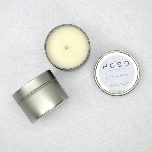 CITRUS & BASIL SOY CANDLE