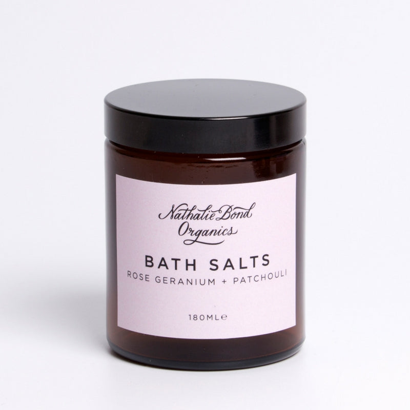 ROSE & PATCHOULI BATH SALTS