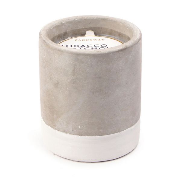 CONCRETE TOBACCO & PATCHOULI CANDLE