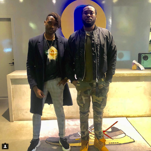 Meek Mill purchases De Lesseps at Fancy New York New York