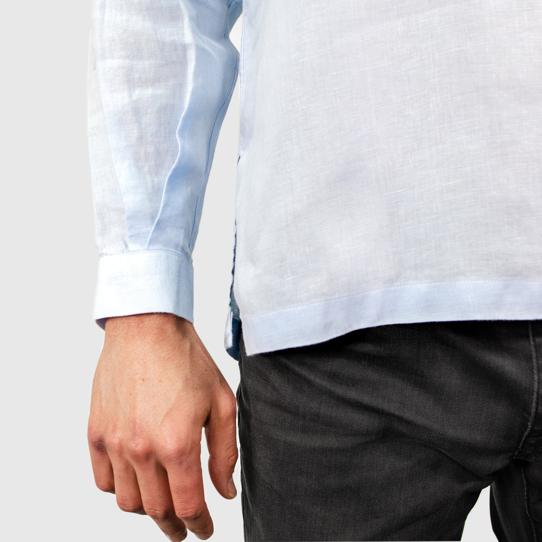 Ferdinand - Blue Band Collar Shirt