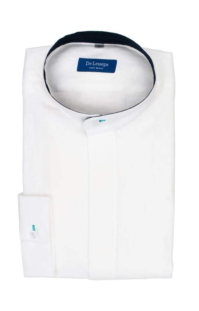 Ferdinand - White Band Collar Shirt
