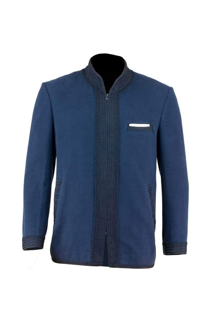 The Smoking Jacket - Blue