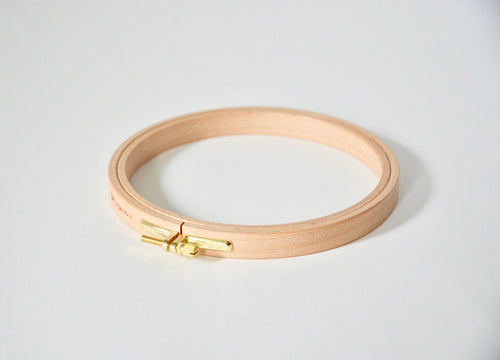 Wood Embroidery Hoops -- 16mm